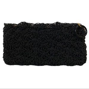 Vintage Victorian Finely Beaded Clutch evening bag